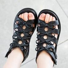 PVC Girls Sandals Gladiator Flowers Sweet Soft Children's Beach Shoes Kids Summer Floral Sandals Princess Plastic Girl Shoes
