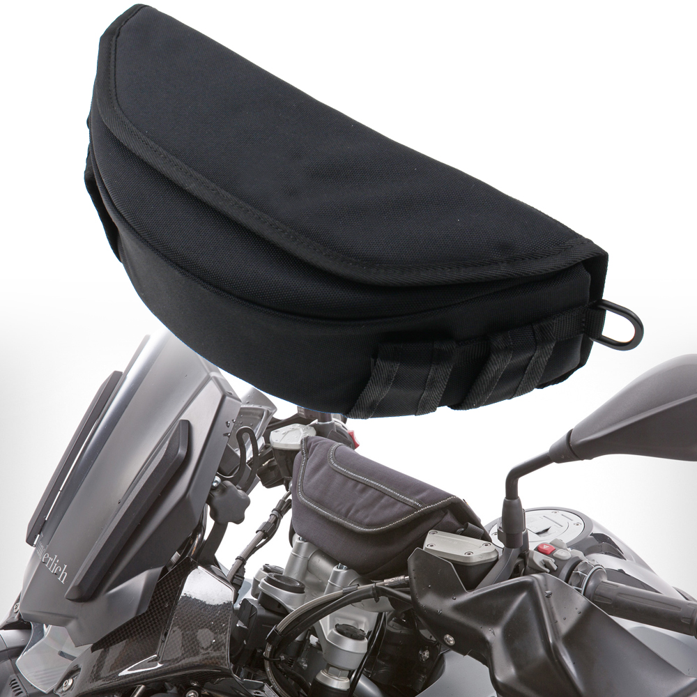 For HONDA VFR 1200F VFR1200F/DCT CBR 400R 500R 600F4I CBR500R Motorcycle Side Package Modified Hard Shell Triangle Bag Kit image