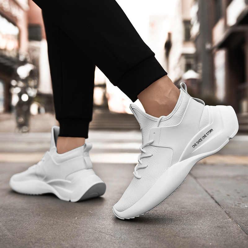נעלי גברים סניקרס זכר Mens נעליים יומיומיות Tenis יוקרה נעלי מאמן את לבן נעלי אופנה נעלי הריצה בשבילי
