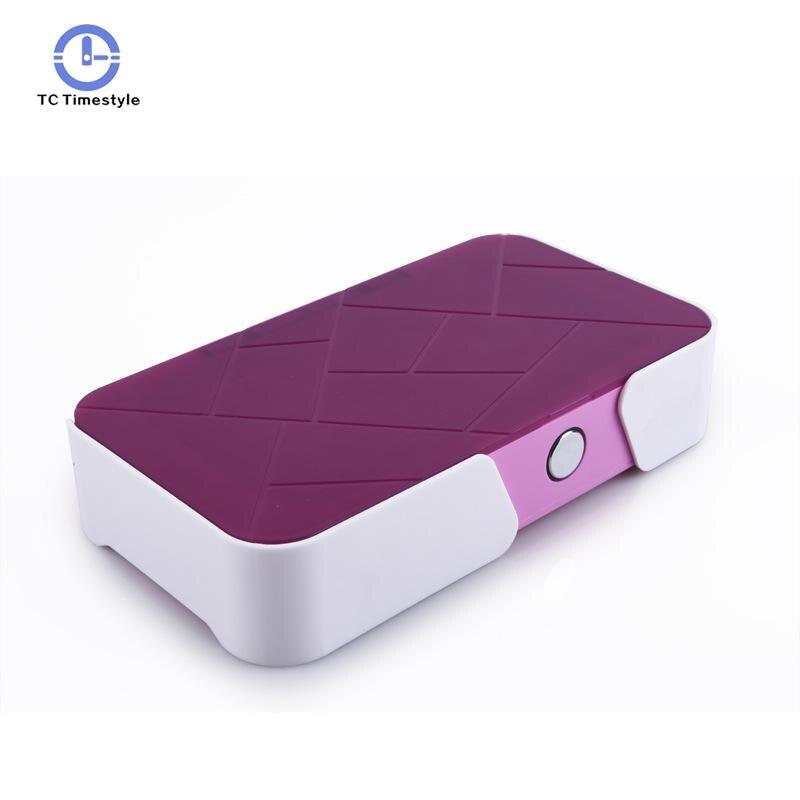 8W UV Sterilizer Box Phone Wireless Charging Ultraviolet Ozone Disinfection Cabinet 5V Jewelry Mask Aromatherapy Esterilizador