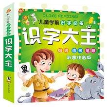 Книга грамотности китайская каллиграфия книги детские книги выучить китайский иероглиф китайский раннего образования учебник детская детские