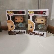 Funko Pop Vikings 178# LAGERTHA 177# RAGNAR LOTHBROK Vinyl Action Figure Vikingos Decoracion Collection Figure Kids Toys 2F15
