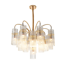 Nordic post-modern chandelier light luxury crystal living room lamp model designer dining creative lamps