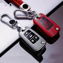 TPU carbon fiber car key case cover For Buick Lacrosse Chevrolet Camaro Cruze Equinox Impala GMC Terrain smart key case cover