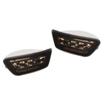 2Pcs LED Rear Bumper Fog Lights Tail Brake Fog Lamp for Jeep Grand Cherokee WK2/Compass/Dodge Journey 2011-2018