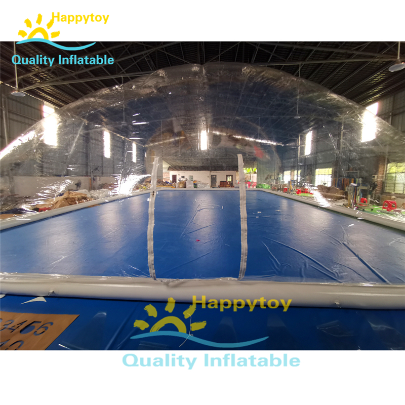 Inflatable Swimming Pool Tents Cover Bubble Pool Tent Cover Automatic Indoor Outdoor Swimming Pool Cover