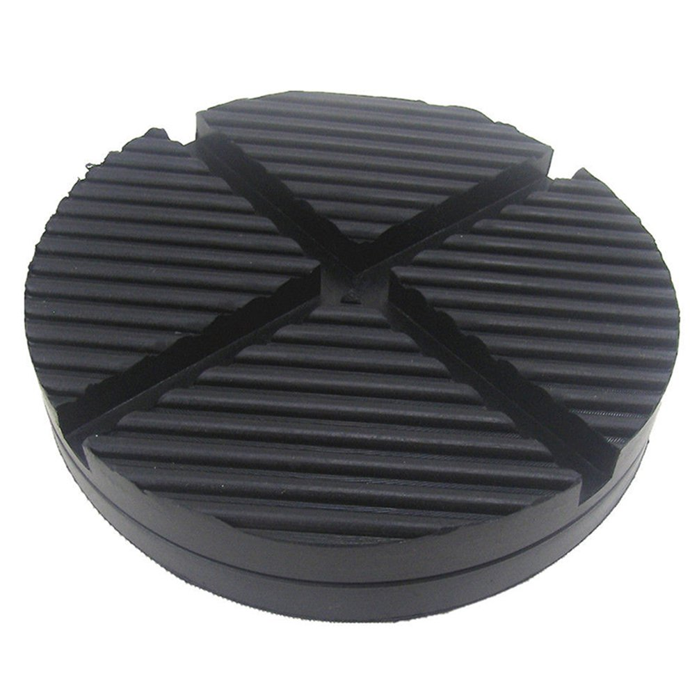 125Mm Car Off-Road Vehicle Cross Groove Frame Rail Rubber Jack Cushion Protection Pad Car Accessories