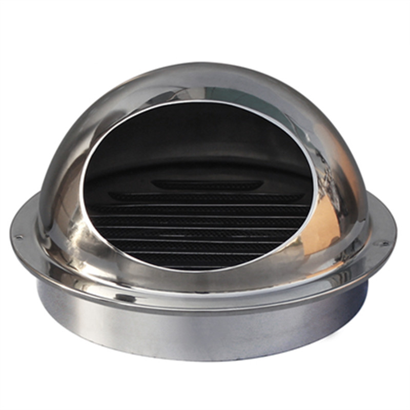 Stainless Steel Ventilation Cap Air Outlet Home Furniture Rain Proof Anti-insects Exhaust Outlet Safety Eco-friendly Wind Cover