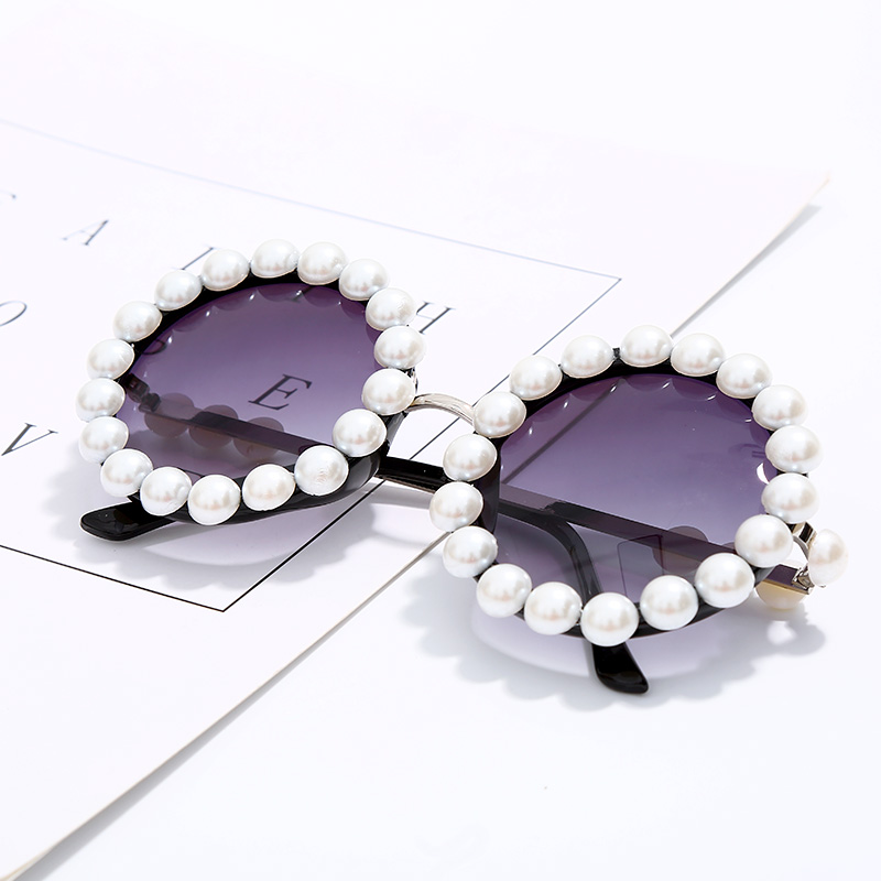 Sublime Fashion Round Sunglasses 140mm 2