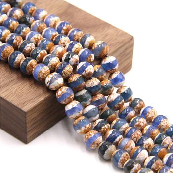 15 5 #8222 Faceted Dzi Agat koraliki wiercone naturalny tybetański Agat hurtownie 6 mm 8 mm 10 mm luźne koraliki do samodzielnego robienia biżuterii akcesoria tanie i dobre opinie vinswet CN (pochodzenie) NONE Kamień półszlachetny zawieszki Okrągły kształt 19-50 G moda ZA0051-6MM Dzi Agate 6 mm-10 mm