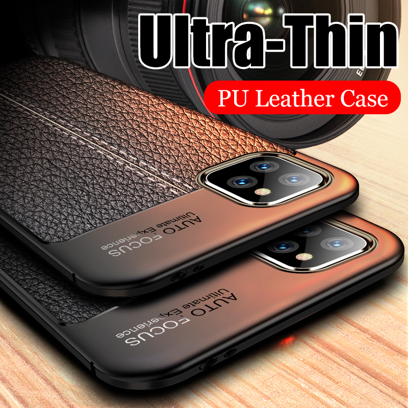 Luxury Leather PU Silicone Soft Case For iphone 7 8 6 6s PLus X Full Cover For iphone title=