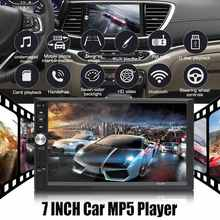 "KROAK 7"" Inch DOUBLE 2DIN Car MP5 Player BT Touch Screen Stereo Radio Multimedia player MP5 Player With Camera(China)"
