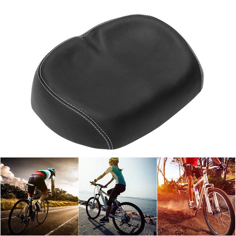Big Bum Bike Bicycle Cycling Saddle Noseless Seat Soft Comfort Wide Seat Cushion