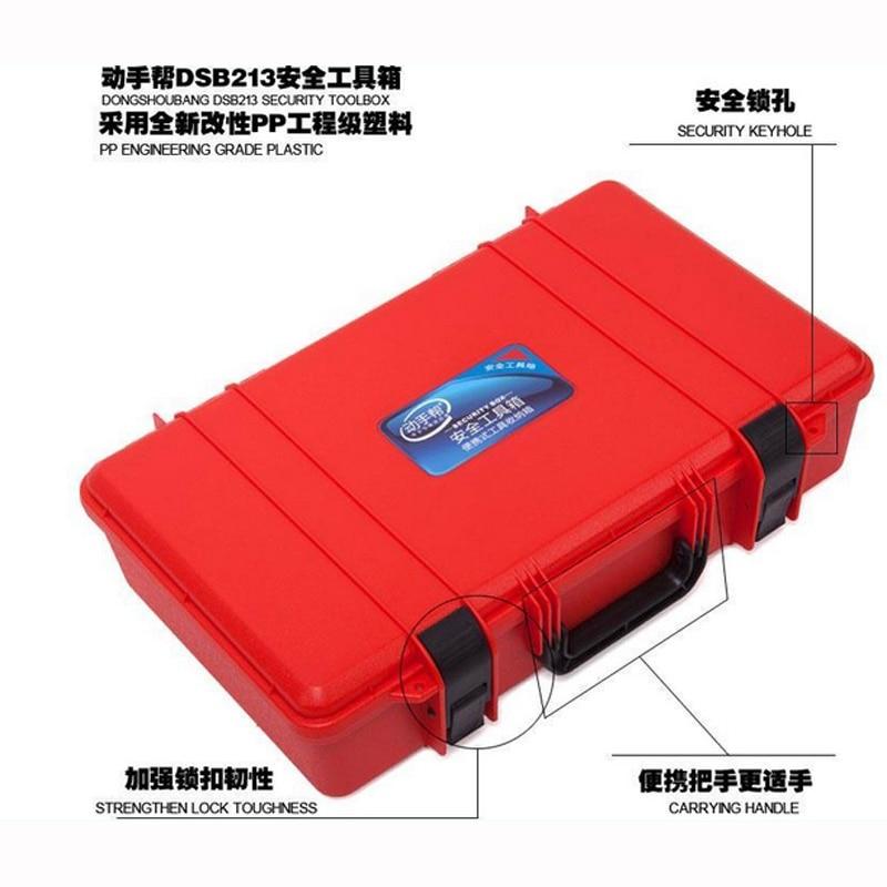 500x300x110mm ABS Įrankių dėklas, įrankių dėžės lagaminas, - Įrankių laikymas - Nuotrauka 3