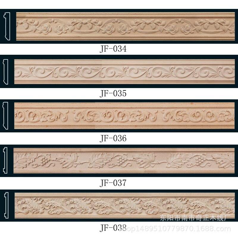 Напрямую от производителя продажи фрезерование древесины Китайский стиль потолочное настенное украшение линии включения цилиндр