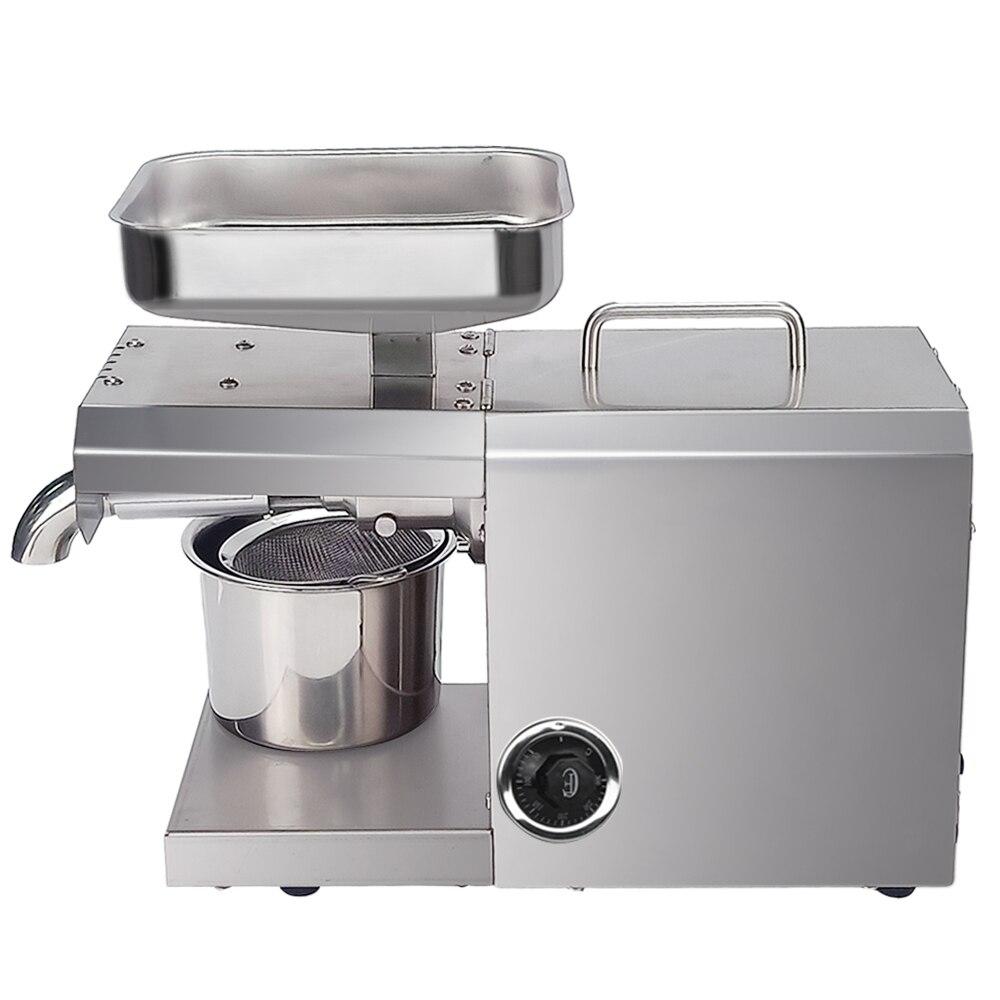 700W Commercial ménage presse à huile Machine automatique presseur d'huile expulseur noix graines noix de coco huile extracteur contrôle de la température - 2