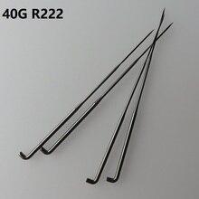 500 adet 40G R222 keçe iğne ince yün elyaf keçe çelik iğneler alman kalite göstergesi 40