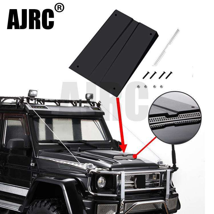 TRAXXAS TRX-4 G500 TRX-6 G63 Hood Intake Grille Simulation Hood Cooling Decoration For 1/10 RC Car Parts