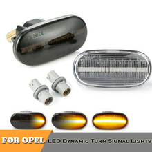 2pcs led sequential blinker turn signal indicator dynamic lights for Honda CRX Civic Del Sol Fit Integra Prelude S2000 AP1 AP2