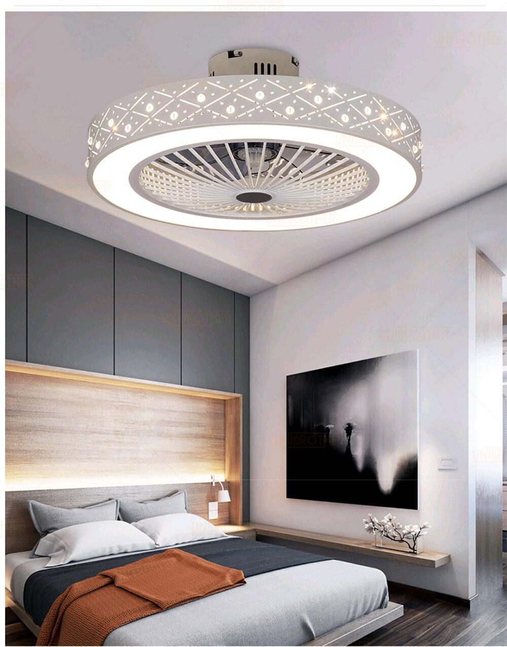 55 Cm Ceiling Fan Smart Remote Control