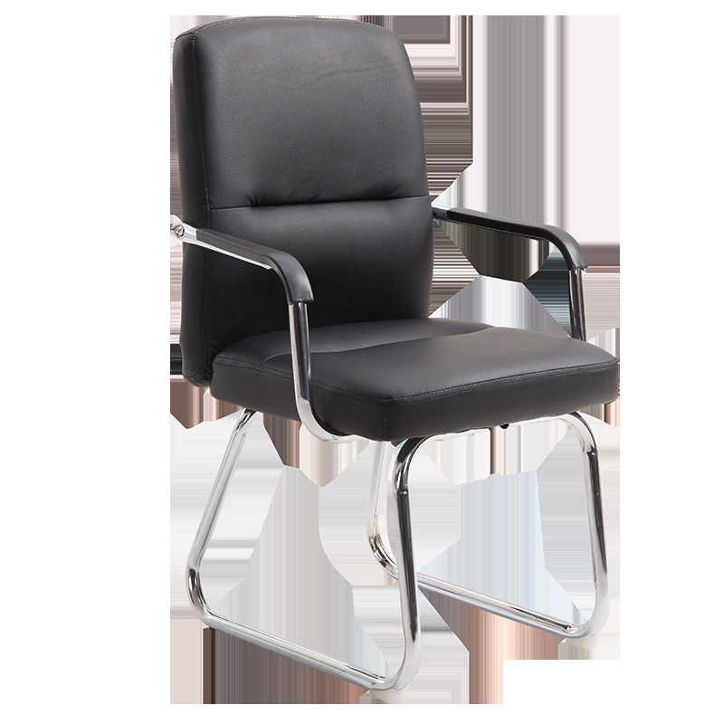 High Quality 1808 Poltrona Office Live Silla Gamer Synthetic Leather Chair Wheel Ergonomics Can Lie Household Steel Feet