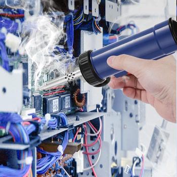ADT03 automatyczne przenośne elektryczne cyna lutownicza Sucker próżniowe lutowania usunąć pompy rozlutownica z silne ssanie tanie i dobre opinie KKMOON CN (pochodzenie) ADT03 Desoldering Machine
