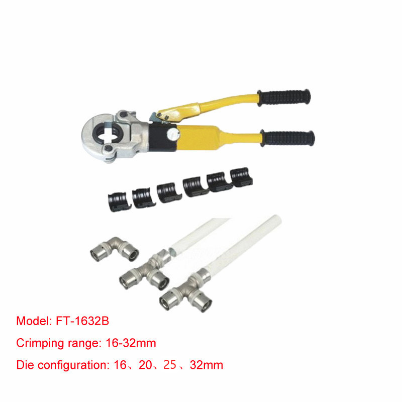 1pc Hydraulic Fitting Tool FT 1632B for PEX pipe fittings PB pipe Copper AL connecting range 16 32mm|fitting tool|hydraulic fitting tool|hydraulic tools - title=