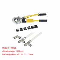 1pc Hydraulic Fitting Tool FT 1632B for PEX pipe fittings PB pipe Copper AL connecting range 16 32mm