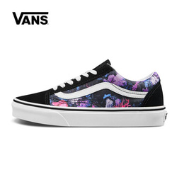 Vans Old Skool Women Shoes Flower Original Sneakers Unisex Vans Men's Shoes Skateboarding VN0A4BV5T7R