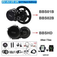 BAFANG 1000w 750w 500w 350w 250w bbfairy b BBS02B BBSHD moteur de vélo électrique mi entraînement vélo moteur Central Ebike Kit de Conversion