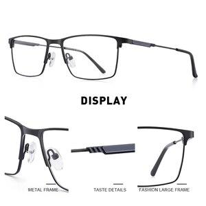 Image 2 - MERRYS DESIGN Men Titanium Alloy Glasses Frame Myopia Prescription Eyeglasses Optical Frame Business Style S2177