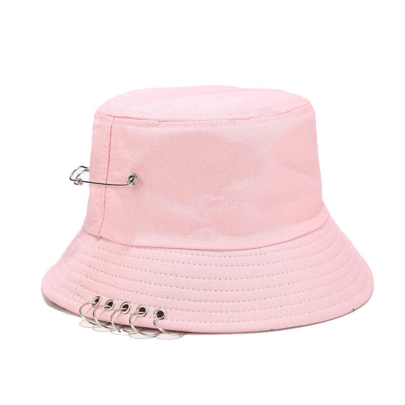 Cubo-sombrero Pescador-cap Para Jardiner/ía Senderismo Pesca Gorras Hombres Mujeres Unisex Con Los Anillos Del Hierro