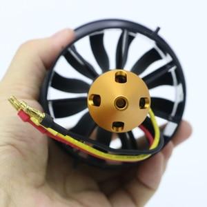 Image 5 - Sistema de ventilación con conductos EDF para avión Jet, Motor sin escobillas, Avión RC EDF, helicóptero RC, 64mm, 70MM, 90MM, 120MM