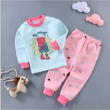 Children's cartoon thermal underwear set