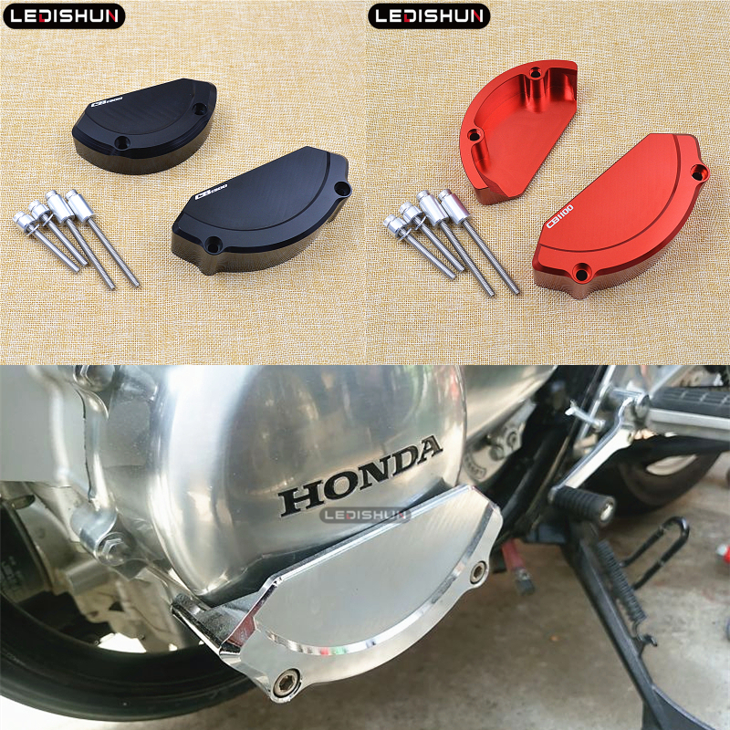 For HONDA  CB1100 CB1300 SF CB 1300 SUPER BOLDOR X4 Motorcycle Accessories Guard From Engine Protective Cover Fairing Guard Slid