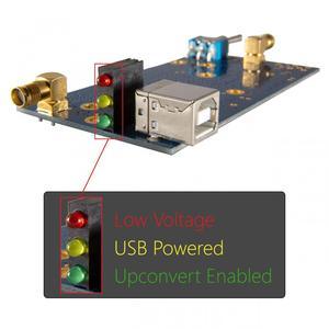 Image 2 - 125MHZ RF (MF ، HF) Upconverter 1.3 ل SDR البرمجيات تعريف Radiothe يصل تحويل HackRF واحد ، RTL SDR RTL2832U