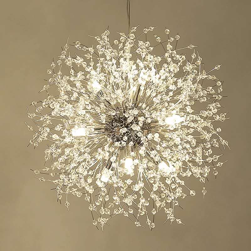 Işıklar ve Aydınlatma'ten Avizeler'de Yaratıcı kristal avize işık yatak odası için yemek odası mutfak armatürleri Modern kristal parlaklık tavan asmak aydınlatma armatürü title=