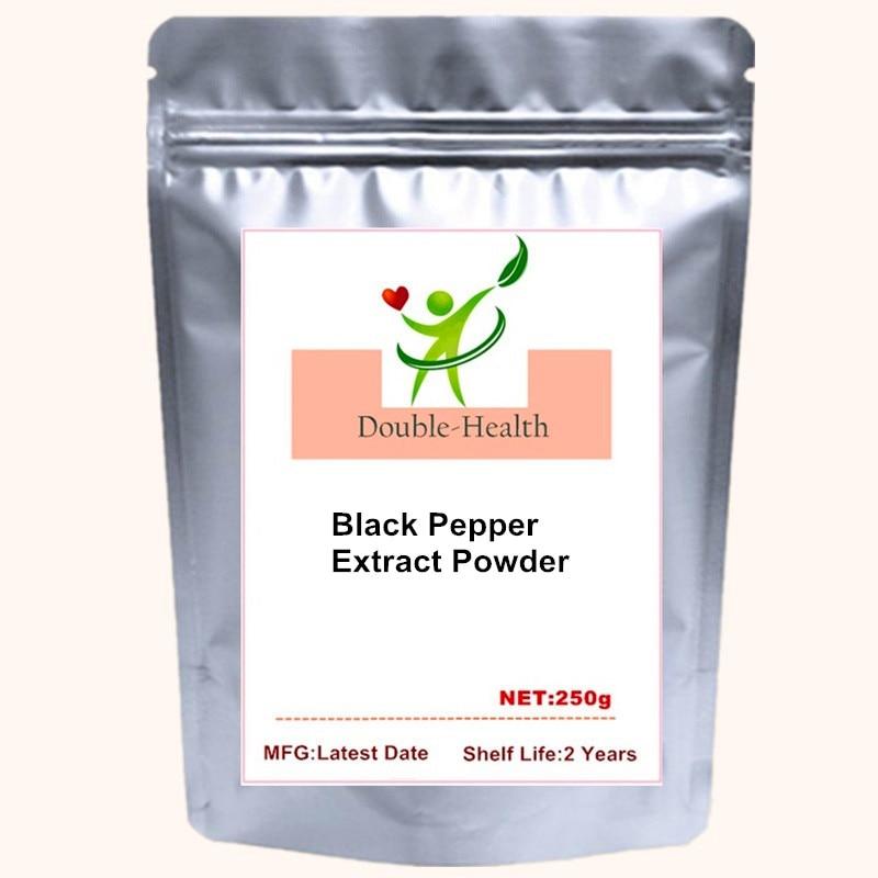 Bioperine 95% Black Pepper Extract Powder Piperine Bioavailability Enhancer