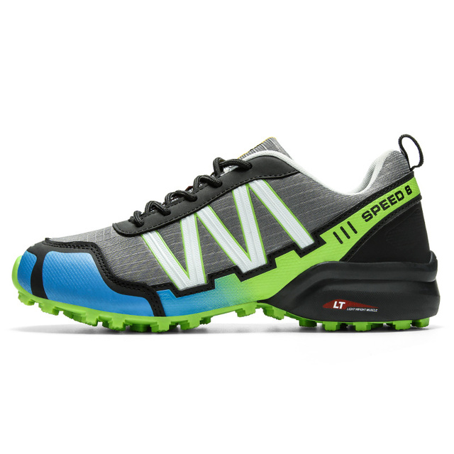 SMS Men Outdoor Hiking Shoes Climbing Sport Breathable Sneakers Tactical Hunting Trekking Shoes Summer Mesh Anti-skid Trainers 2