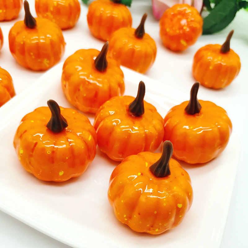Decorados decorativos de calabaza de Halloween accesorios de vegetales falsos de simulación de juego fotografía apoyos para alimento tienda fiesta de Halloween jardines de infancia
