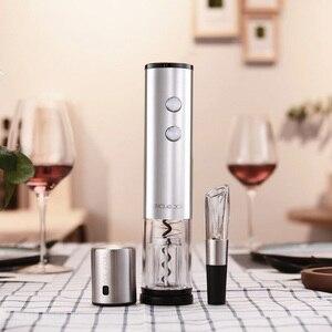 Image 5 - Электрический штопор Youpin Circle Joy из нержавеющей стали, мини штопор для вина, умный набор для вина в подарок