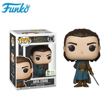 FUNKO POP Game of Thrones Original Limited Edition ARYA STARK Brinquedos Vinyl Action Figures Collectible Model Gifts 2F07 game of thrones jon snow character model toy limited collection doll vinyl action figures collectible