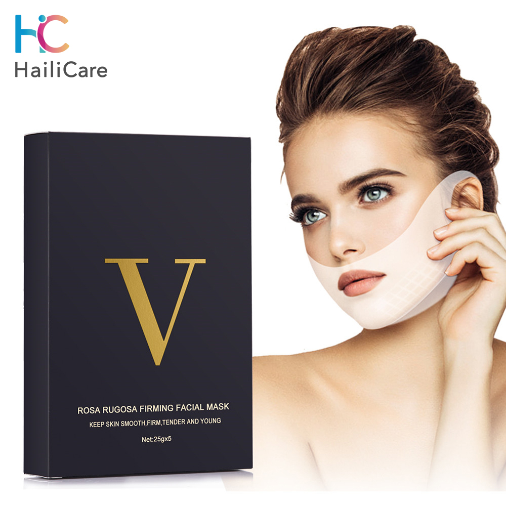 Face Lifting Mask V Line Miracle Slimming Mask With/without Box For Dropshipping