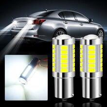 2 шт. P21W 1156 BA15S светодиодный лампы резервные фары заднего хода автомобиля для audi a3 a4 b8 a4 b6 a3 8p 8v q5 a6 c6 c5 a5 a1 tt q7 a4 b9 rs3 q3