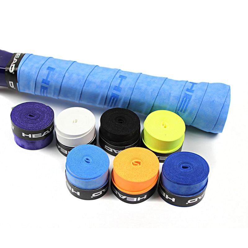 Head Tennis Racket Overgrip Anti Slip Vibration Dampener Tennis Racket Grip Tape Badminton Squash Racquet Training Accessories