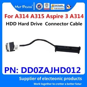 Cable conector flexible para HDD portátiles originales para Acer A314 A315 Aspire 3 A314-32-C00A SSD adaptador de disco duro wire DD0ZAJHD012, novedad
