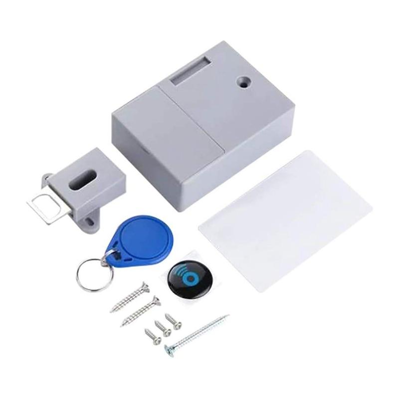 No-Hole Invisible Cabinet Lock 1
