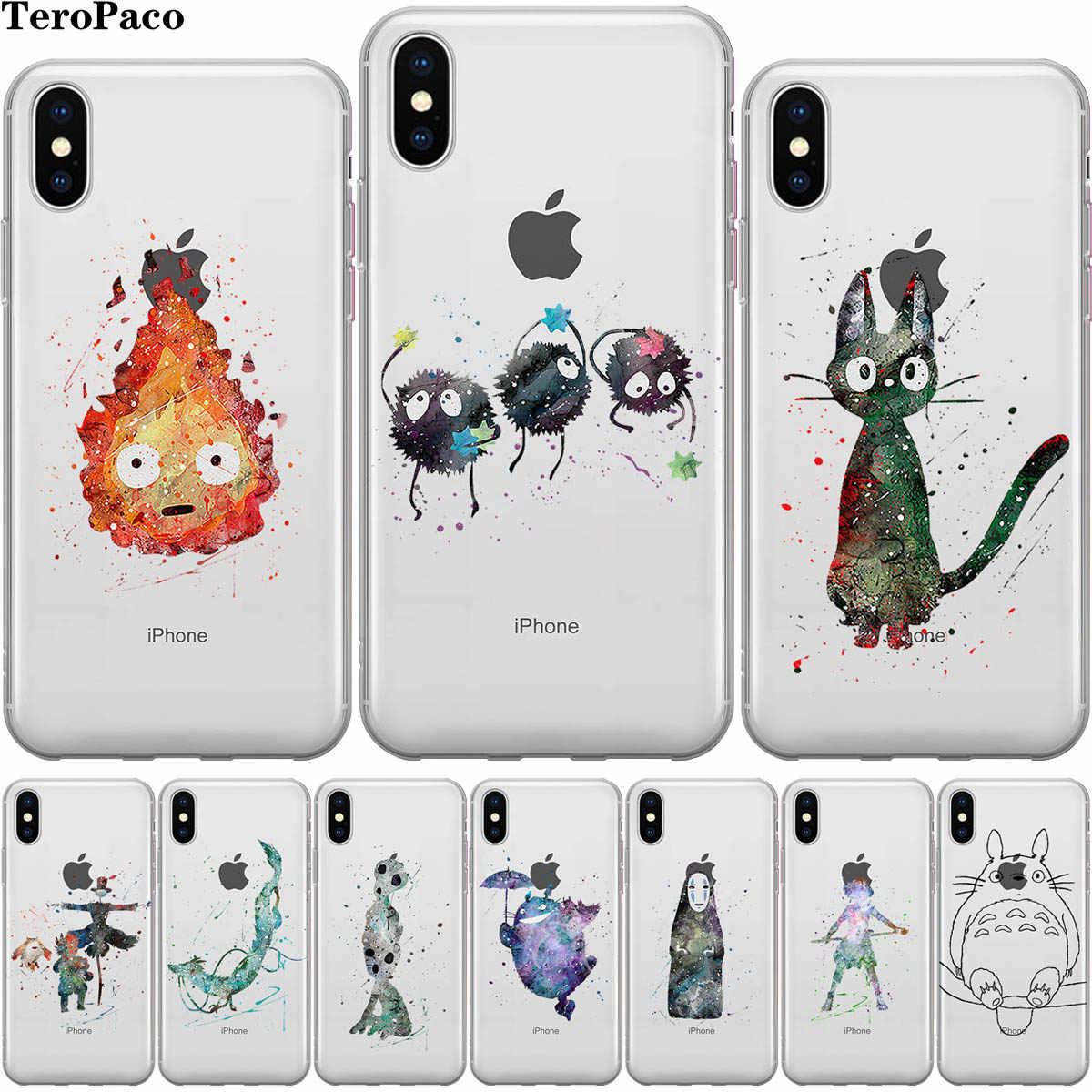 funda iphone 5c totoro