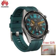 Huawei Horloge Gt Smartwatch Ondersteunt Gps Nfc 14 Dagen Batterij Leven 5ATM Waterdichte Telefoontje Hartslag Tracker Voor Ios android