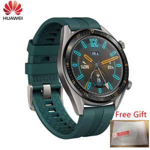Image 1 - Huawei Watch GT Smartwatch supports GPS NFC 14 Days Battery Life 5ATM waterproof Phone Call Heart Rate Tracker For iOS Android